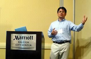 Emmet Tomai presenting at WRPG'12