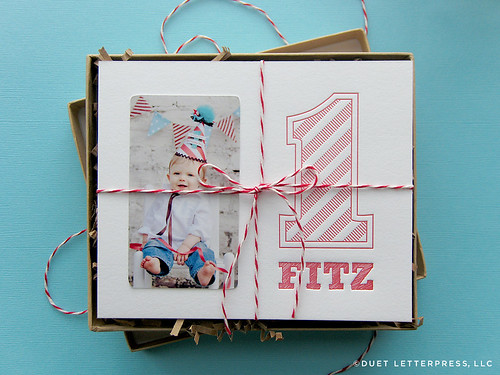 fitz first birthday invitation