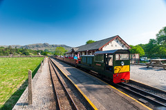 Dalegarth Station with train