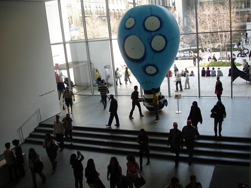 Tim Burton: Balloon Boy, Museum of Modern Art