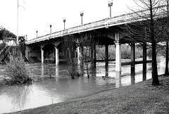 Sabine Street Bridge over Buffalo Bayou 1202181504BW
