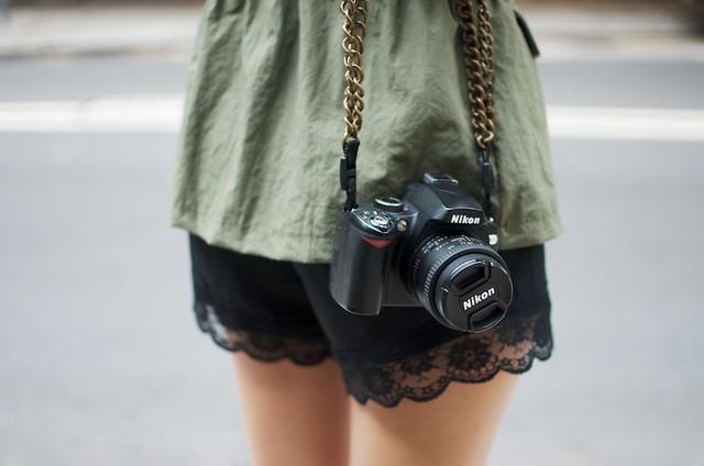 diy chain camera strap 1
