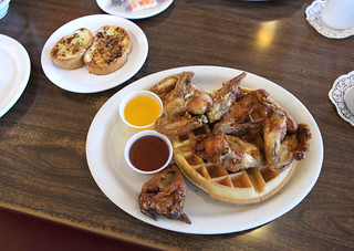 Waffles and Chicken Wings | by Sam Howzit
