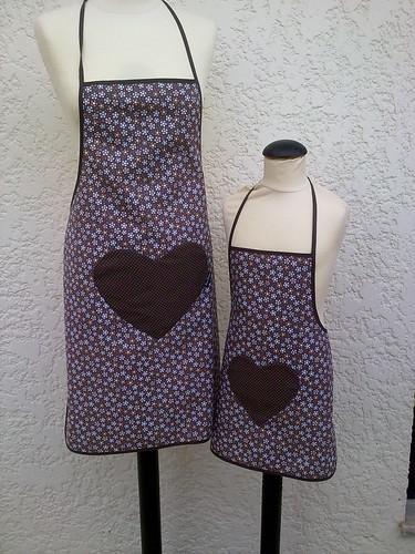 Avental para mamã e filha ou papá e filho ;O) by ♥Linhas Arrojadas Atelier de costura♥Sonyaxana