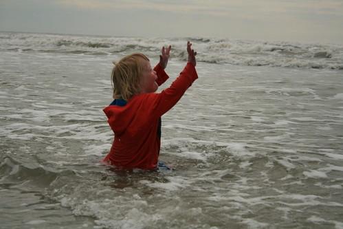 Wooo!  Ocean!