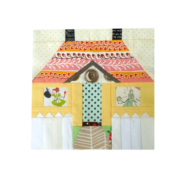 Cocorico April - House block for Charise
