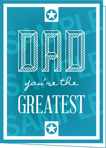 All Stars Dad You're The Greatest Father's Day Greeting