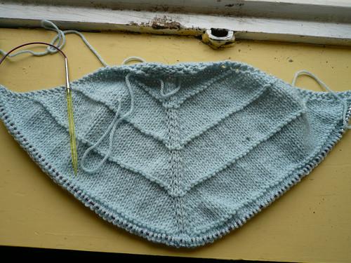 KAL shawl 1