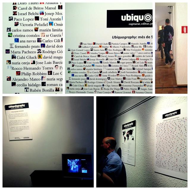 En la inauguración de la Exposición Ubiquography