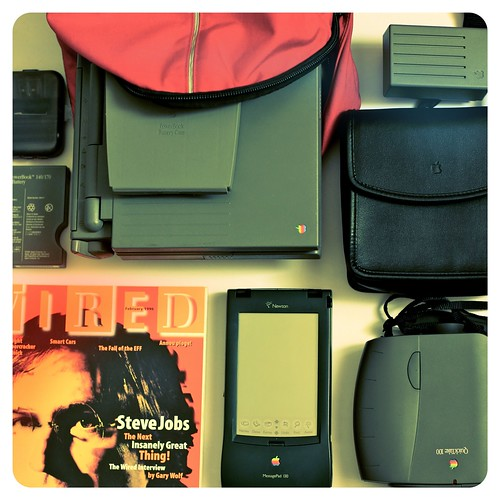 What was in my bag in mid 90s?