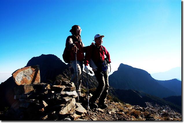 玉山山脈3804峰