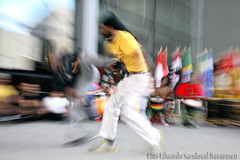Capoeira in the district.