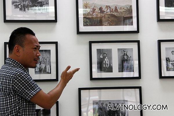 Yak Aik-Wee as a museum curator