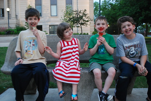 summer kids 2012 ice cream time