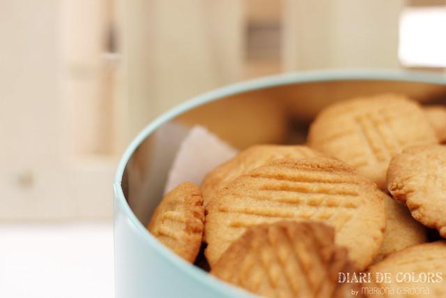 Galletas de manteca de cacahuete