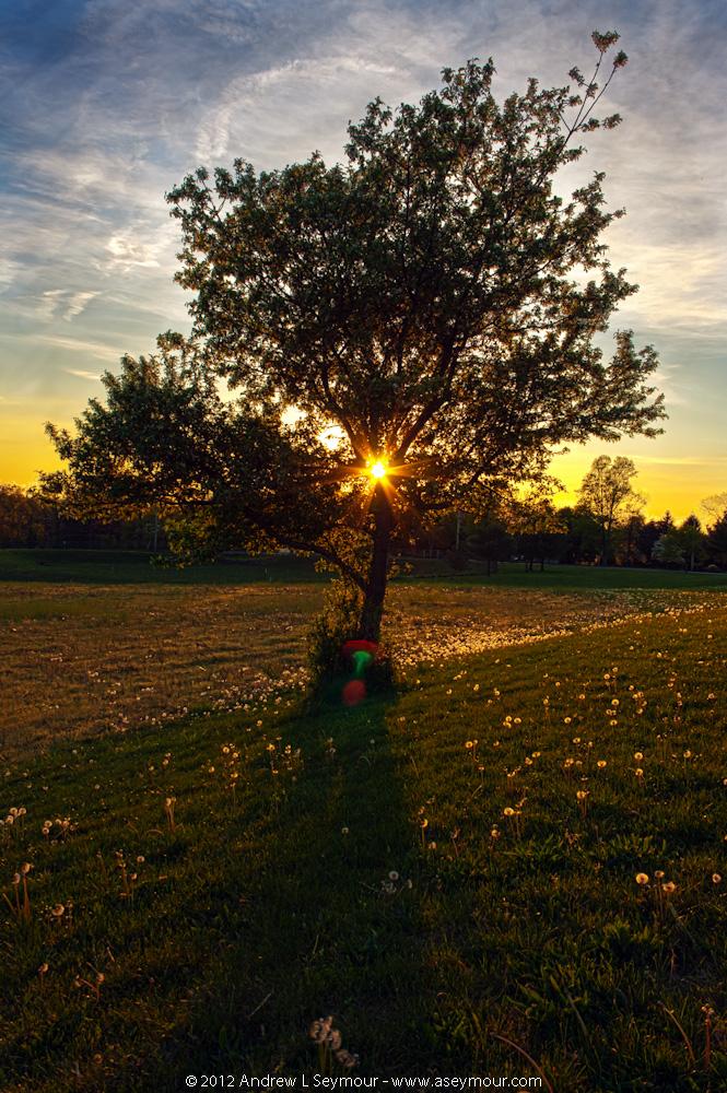 Day 12 - 120420 sunset Shamona Creek es hdr 07