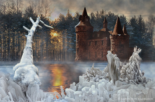 Iced Fantasy at Dawn