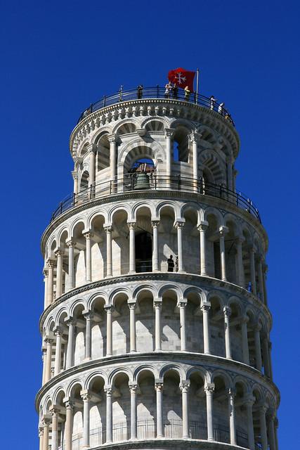 Les colonnes de la tour de pise italie flickr photo sharing - Inclinaison de la tour de pise ...
