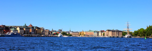 Stockholm panoráma