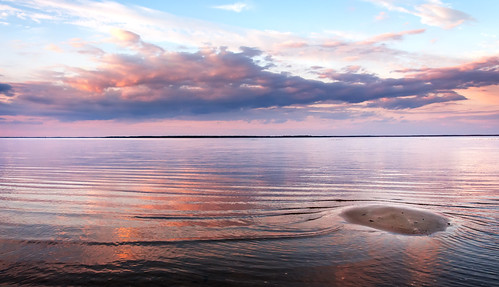 usa beach beautiful clouds reflections river island photography us sand shorelines seascapes unitedstates flat unitedstatesofamerica sandbar calm waters waterscape
