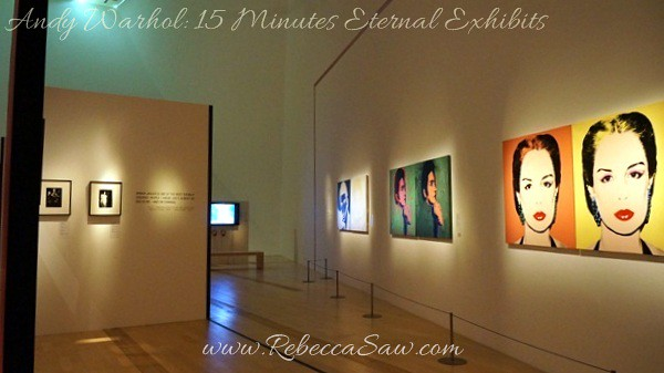 Andy Warhol 15 Minutes Eternal Exhibits - ArtScience Museum, Singapore (21)