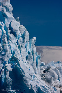 Ice wall at Perito Moreno glacier