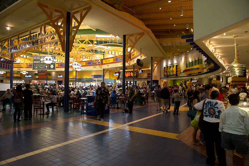 Arundel Mills Mall Food Court
