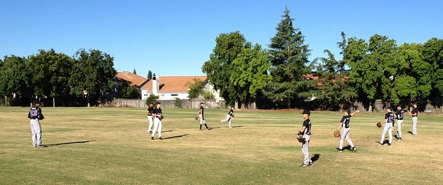 Outlaws Baseball Scrimmage versus Laguna Creek High School JV