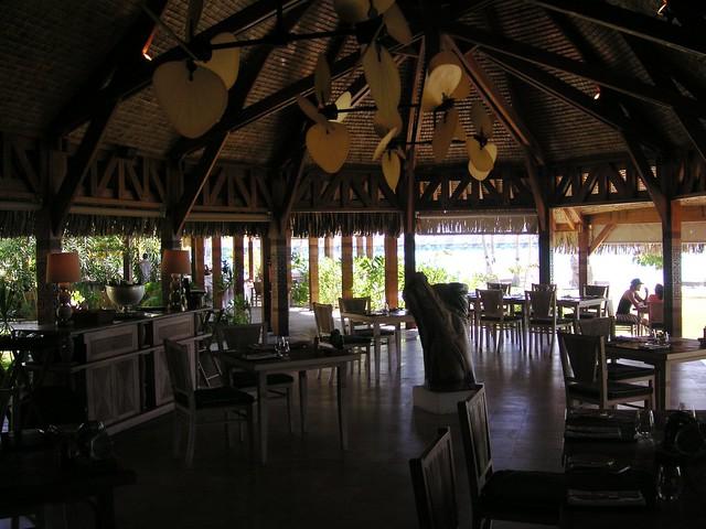 Te Pahu Restaurant, St. Regis Bora Bora