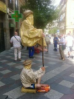 Madrid Street Performers