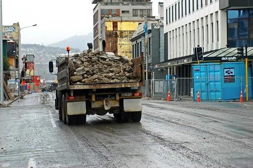 removing debris (c2012 GB Arrington; used with permission)