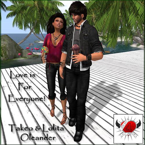 Stand4Love Takeo & Lolita Oleander