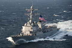 USS McCampbell (DDG 85) file photo. (U.S. Navy/MC3 Patrick Dionne)
