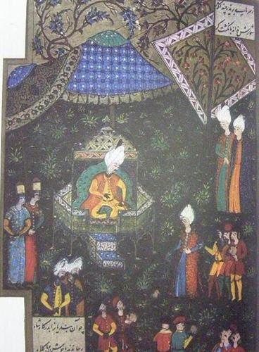 Szulejmán_a_sátrában_Buda_alatt_(1529)
