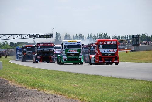 Campeonato Europa Camiones Nogaro 2012