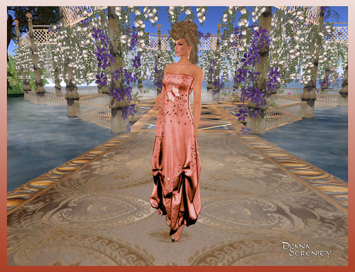 *IW* Dalila in Peach by Dyana Serenity