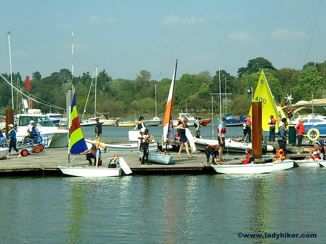 Royal Lymington Yacht Club sailing for kids