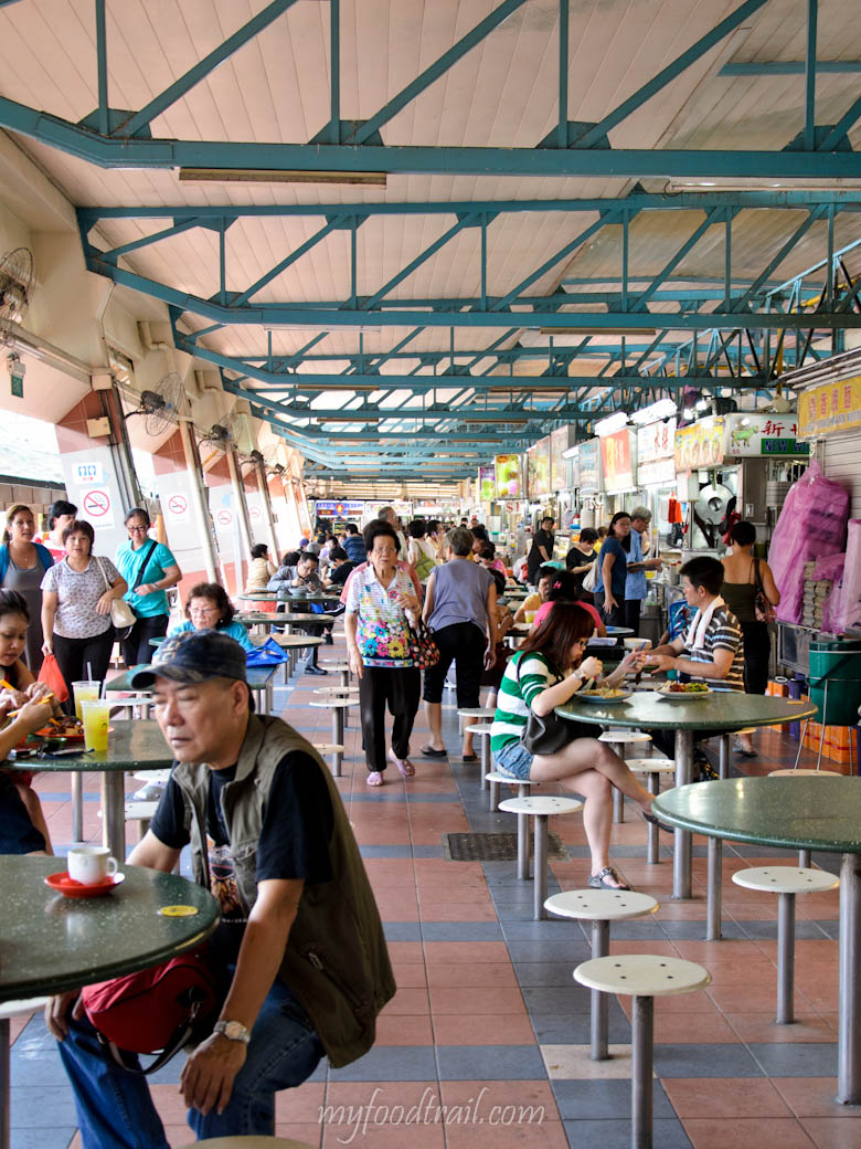 Singapore Hawker Food - Bedok MRT Hawker Centre