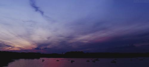 park trees sunset panorama lake nature water silhouette clouds 35mm canon landscape boats eos dof state bokeh pennsylvania f14 vivid pa 7d penn codorus 35l f14l