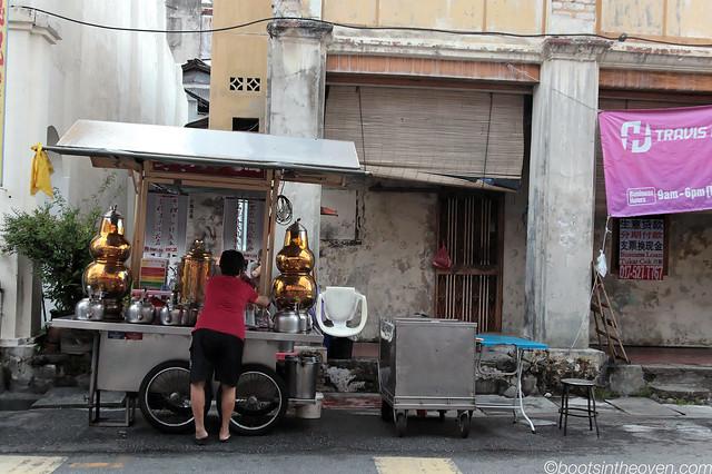 Chinese Medicinal Tea Vendor