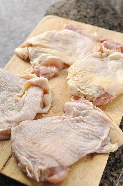 Chicken Amandine