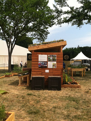 The People's Garden exhibit at the 2012 Smithsonian Folklife Festival in the Reinventing Agriculture area of Campus and Community. The People's Garden exhibit at the 2012 Smithsonian Folklife Festival in the Reinventing Agriculture area of Campus and Community.