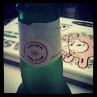 Elitist Belgian Beer Drinking or Wifebeater?