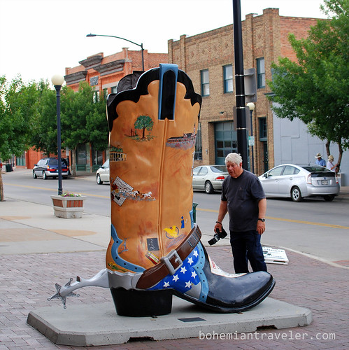 giant cowboy boot in Cheyenne