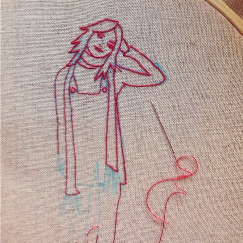 Girly stitches
