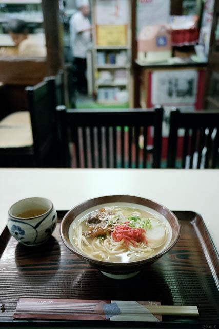 太栄食堂のソーキそば / Soki-soba (noodle)