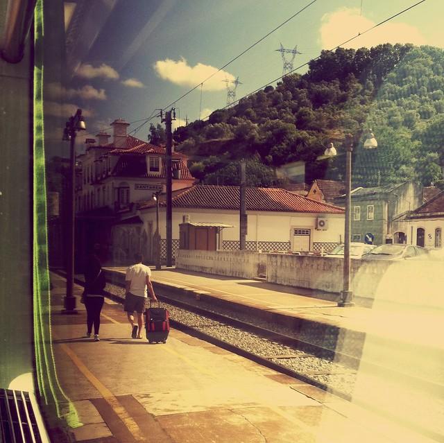 Estação CP Santarém (30.06.2012)