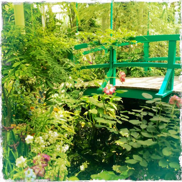 Monet's Bridge at NYBG Exhibit