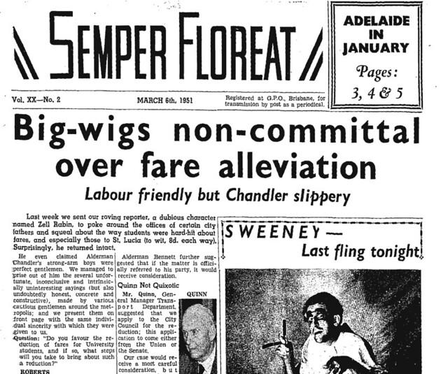 Semper Floreat 6/3/1951
