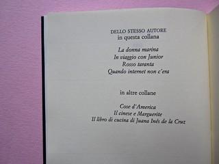Angelo Morino, Il film della sua vita, Sellerio 2012. [resp. grafica non indicata]. pagina dell'occhiello, verso (part.), 1